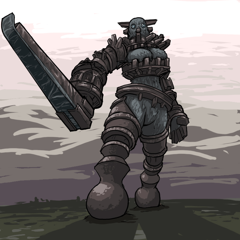 the shadow of colossus mono Bloodstained ritual of the night porn