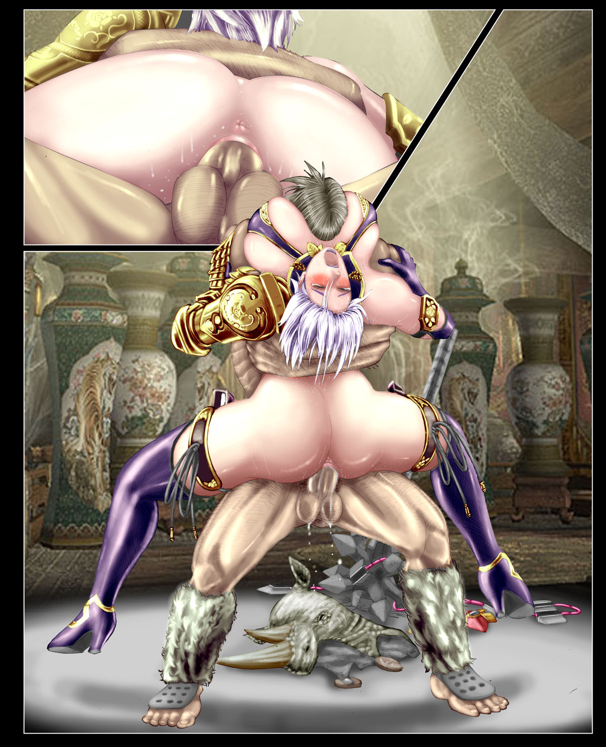 calibur 6 soul Shoujyo and the back alley