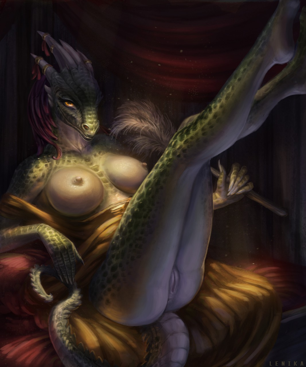 maid cosplay argonian the lusty Fairy tail fanfiction lucy pregnant
