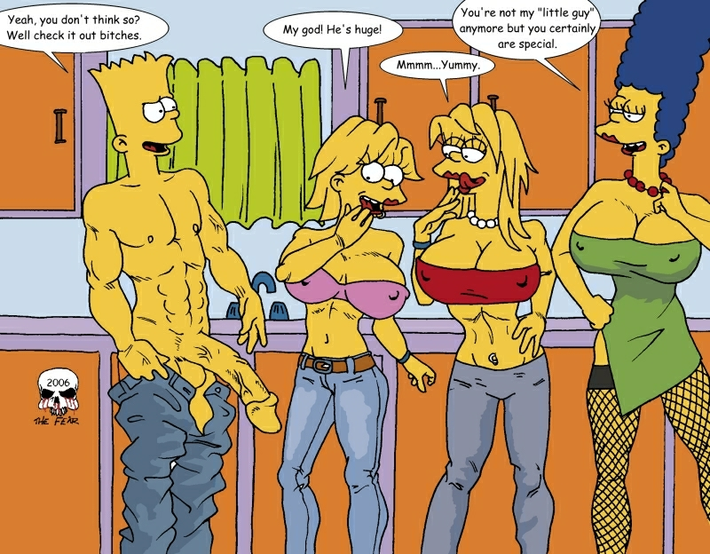 multiverse simpsons the the into Lady (devil may cry)