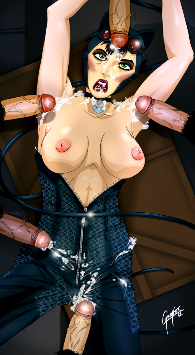 how city batman to in catwoman arkham get Rip van winkle hellsing and grell