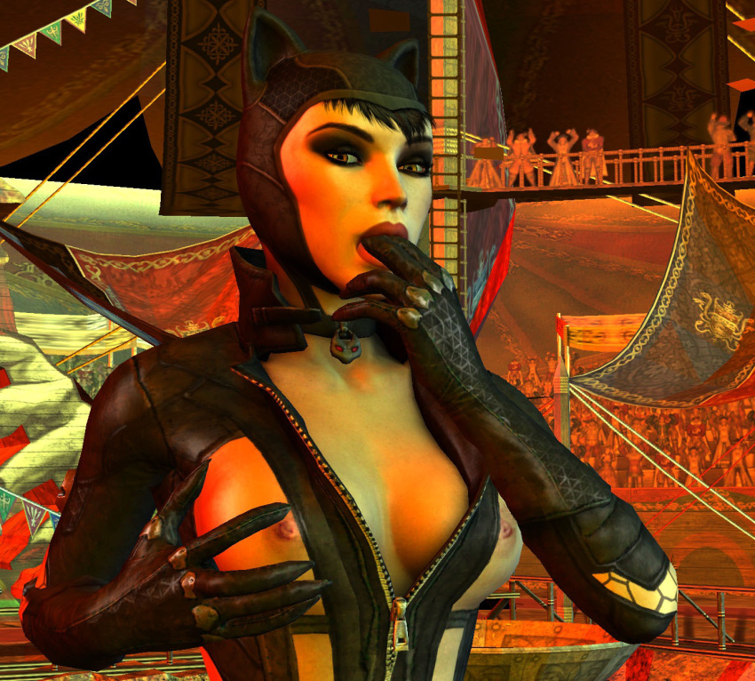 batman to get in city how catwoman arkham A hat in time smug