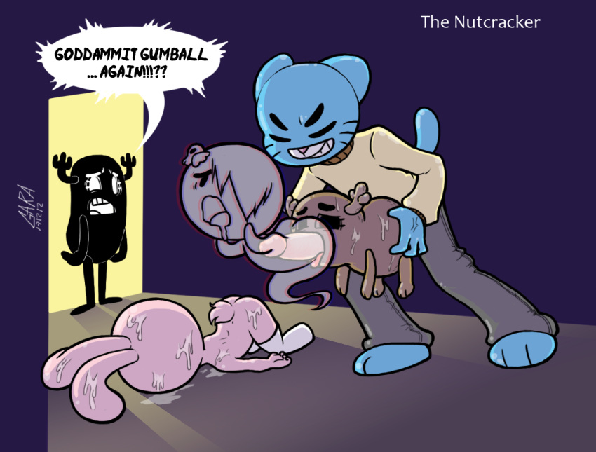 the all men kings furry The amazing world of gumball meme